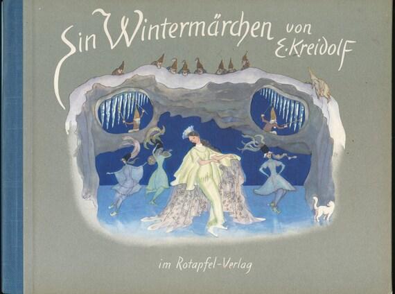 Ein Wintermarchen von Ernst Kreidolf