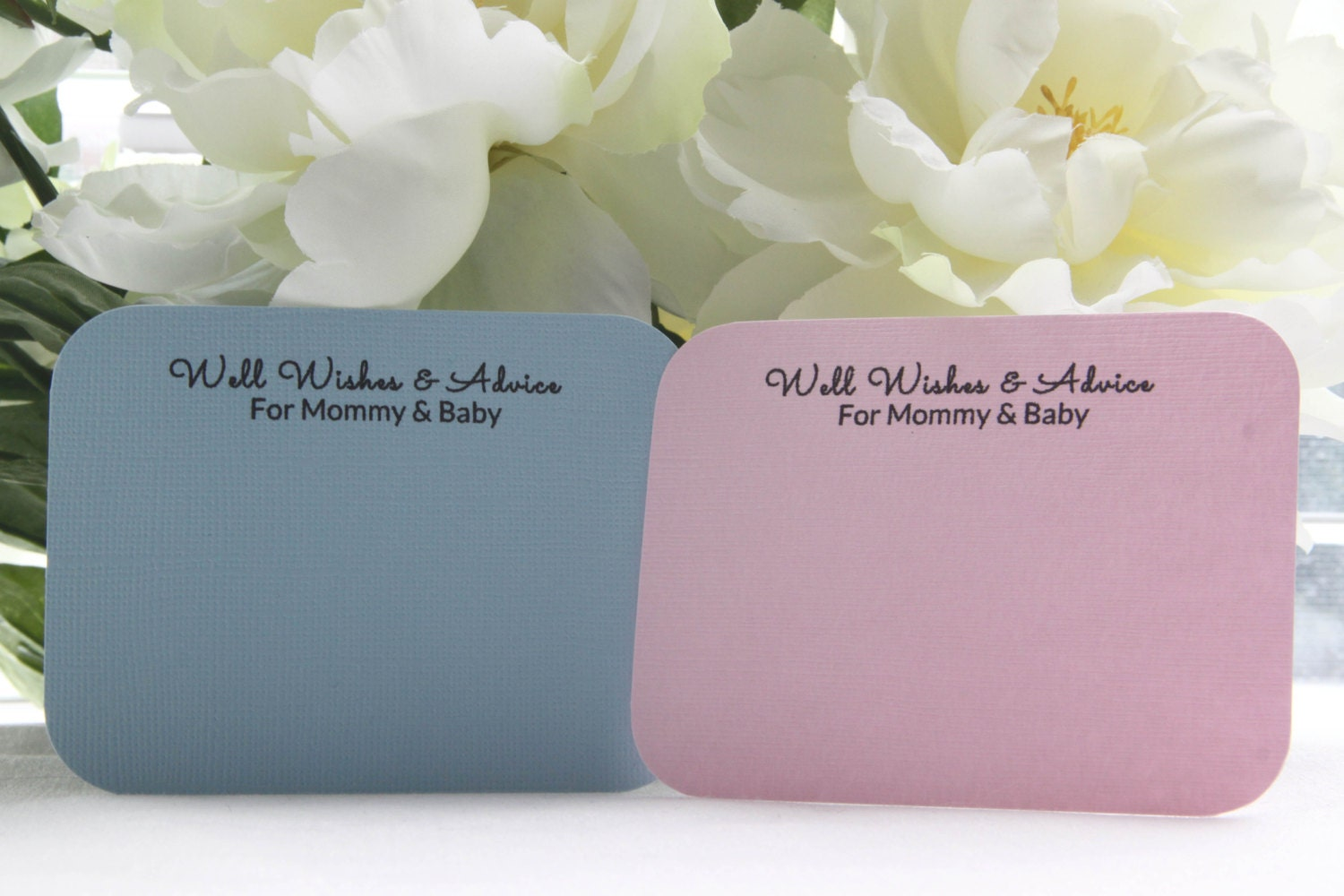 55 baby shower well wishes advice cards