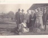 Vintage Family Photograph, Vernacular, Found Photo, Ephemera  (P)
