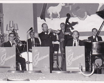 Vintage Photograph - Band, Vintage Photo, Vernacular, Found Photo, Ephemera (SS)