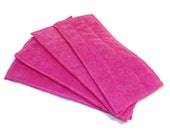 Swiffer Wet Jet Pads- Set of 2- PINK- Microfiber- Refill- Reusable- Ecofriendly