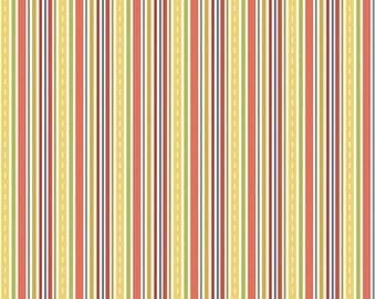 Cruiser Blvd Stripe Red by Sheri McCulley Studio for Riley Blake, 1/2 yard