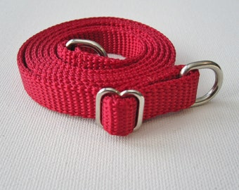 Cherry Red Shoulder Strap Add-On for your RockitBot Wallet