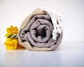Organic Cotton Towel Natural Cotton Fouta Bath Beach Towel Peshtemal Turkish Cotton Beach,Spa,Yoga,Pool Towel