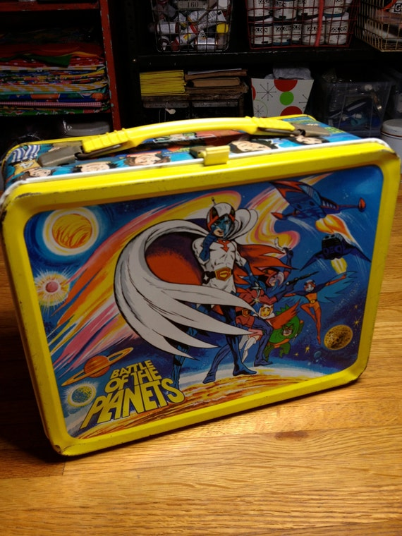 battle of the planets lunch box - photo #1