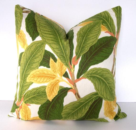 Indoor Outdoor Tropical Decorative Pillow Cove