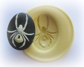 Spider Cameo 18x25 mm Mold Silicone Flexible Kawaii Moulds