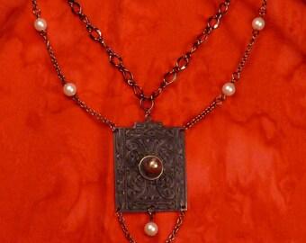 Doorknob Society Steampunk Necklace