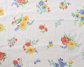 reclaimed fat quarter vintage sheet large floral