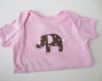 Elephant Applique Bodysuit - Size 18 Months