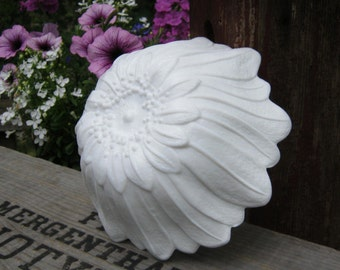 Lily Pons Sunflower Bowl - Indiana Glass Co - White Milk Glass - Oak Hill Vintage