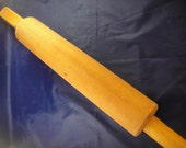 Rolling Pin  Wooden with Metal Rod