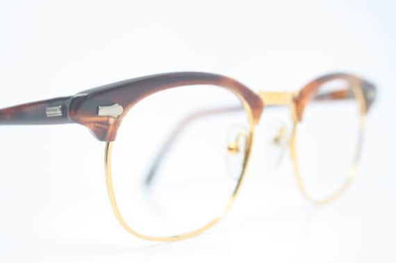 tortoise browline eye glasses malcolm x vintage frames