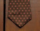 vintage Calvin Klein dotted necktie