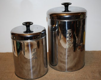 Sugar and Tea Canister Set - Pantry Queen