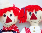 Raggedy Ann and Andy-- SALE