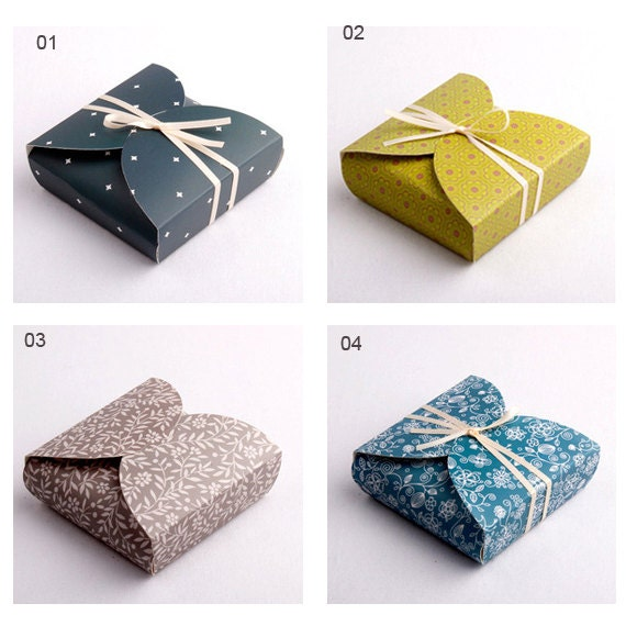 Items similar to paper gift box boxes nd on etsy