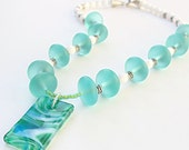 Clearance Blue Lagoon necklace