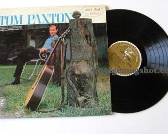 "Tom Paxton  Vinyl Original MONO Sixties LP Record Ain""t That News Elektra"