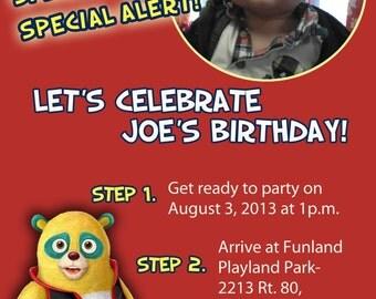 AGENT OSO Invitations, Disney Agent Oso Invite, special agent oso birthday party, agent oso party, diy print agent oso invitations, disney