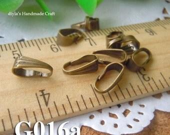 50Pcs 4x8.5mm Nickel Free Antique Bronze Brass Claws (G016a)