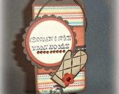 Baked Good Gift Tag -- Handmade Tag for Baked Goods