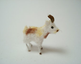 Tiny Goat for the Dollhouse