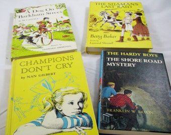 Vintage Children Books French  Hardy Boys Back To School Sale kids boys girls movie prop Home  Decor Interior Style Ideas Old  Retro