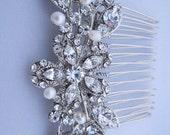 1920's wedding accessories bridal hair comb wedding hair jewelry bridal hair accessories wedding jewelry bridal haircomb wedding headpiece