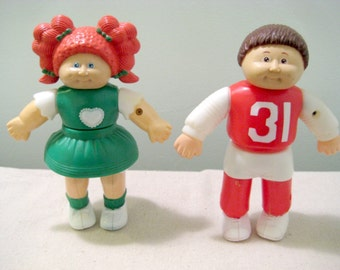 Vintage Cabbage Patch Magnetic Doll Puzzles