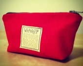 Liliglow Boutique's Lipstick Red Make Up Sac