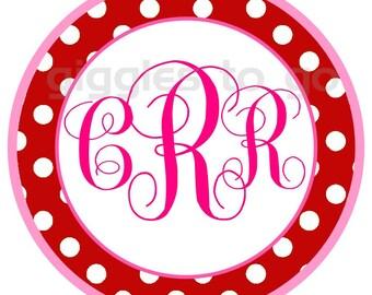 Valentine's Monogram Iron on