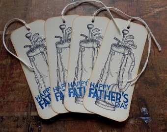 Fathers Day - Golf- Gift Hang Tags (4)