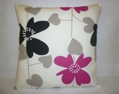 """16"""" Fuschia Pink Pillow Color choices Designer Cushion Cover Throw Scatter Pillow. ONE x 16"""" (40cm)"""