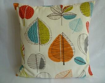 "BIG 22"" Orange Blue Green Designer Cotton Cushion Cover Euro Pillowcases Shams Slips"