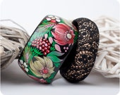 CUSTOM ORDER for Inese. Dolci Fiori bracelet set