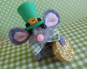 St. Patrick's Day Finger Puppet