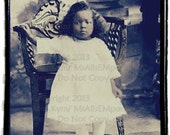 Vintage Photo Digital Download,Little Beauty