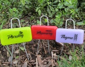 Herb Markers - Set of 3