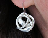Seaweed Knot Earrings