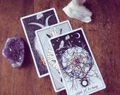 Full Moon Full Spread Tarot Reading. Intuitive guide.