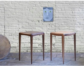 mid century side tables (harlequin)