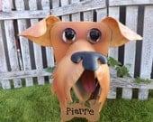 Airedale Dog Garden Planter- Christmas Gift- Garden & Pet Lover Gift-SPECIAL PRICE