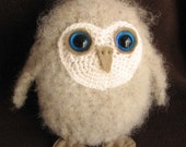 Crochet pattern: make a cute baby owl - INSTANT DOWNLOAD .pdf