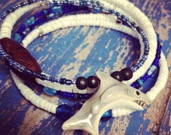 Shark  Mix & Match Bracelet  4 piece Set