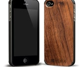 Walnut Wood iPhone 5 Case - Walnut with Polycarbonate Bumper