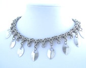 Silver Byzantine Scalemaille Collar Necklace