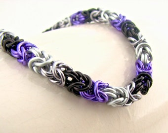 30% OFF SALE Love is Enough Braid Chainmaille Bracelet