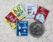 Miniature Children's Books in Dollhouse 1:12 Scale