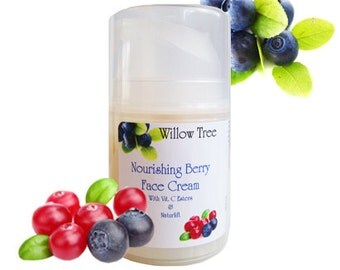 Nourishing Berry Face Cream - with Vitamin C Esters and Naturlift -1.7oz.